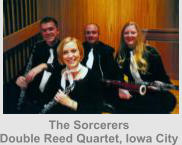 The Sorcerers Double Reed Quartet, Iowa City